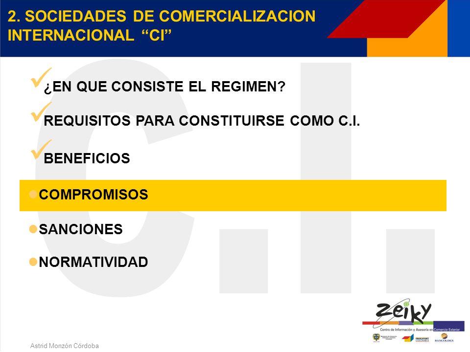 Astrid Monzón Córdoba BENEFICIOS Exención de IVA Los bienes muebles que se compren en el país Servicios intermedios de la producción Exención de Reten