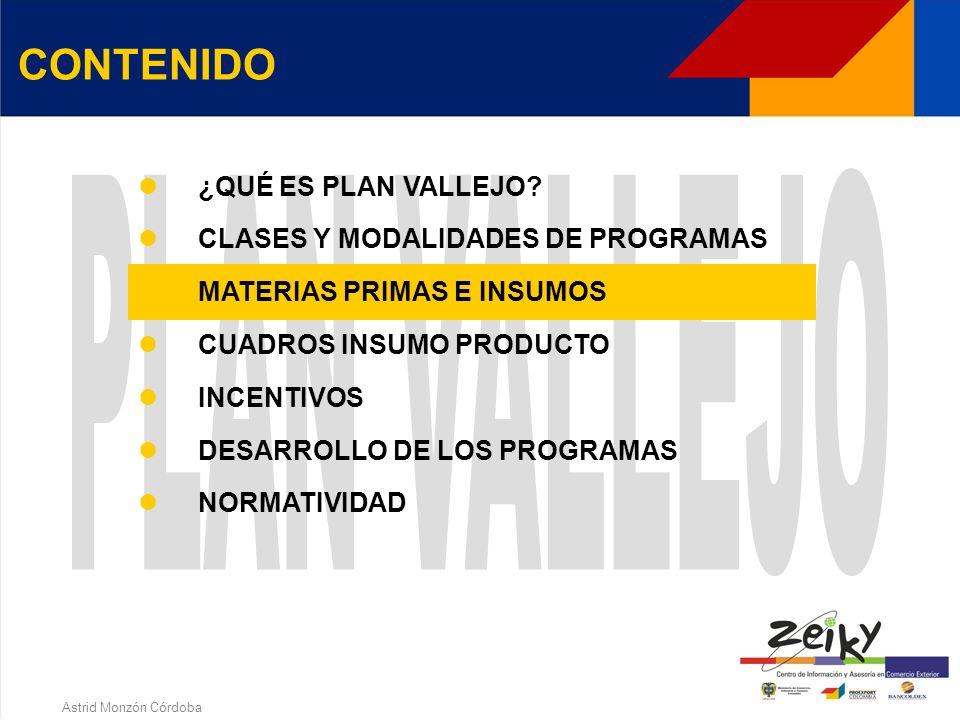 Astrid Monzón Córdoba MODALIDADES DE PROGRAMAS Directa o Indirecta Reembolsable o No Reembolsable (Maquila) Grandes Usuarios Asociación Empresarial De