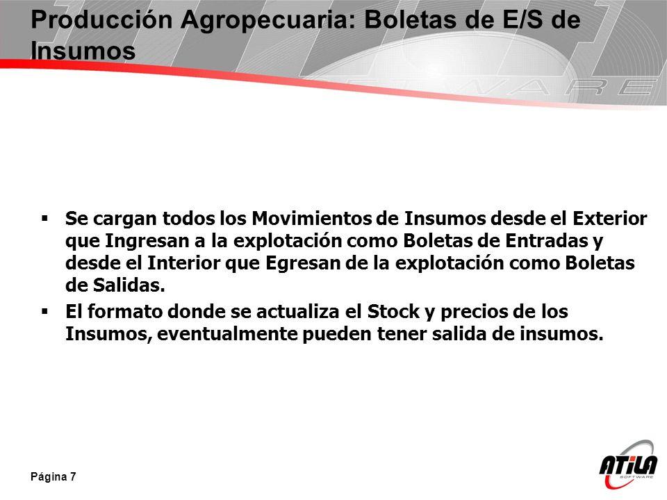 Se Ingresan las Liquidaciones de Ventas de Cereales que nos terminaran de dar el Stock de Cereales en Cada Acopio o Puerto.