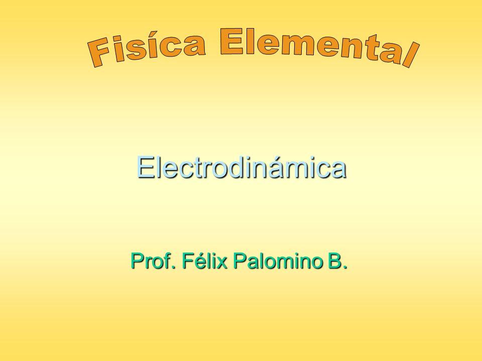 Electrodinámica Prof. Félix Palomino B.