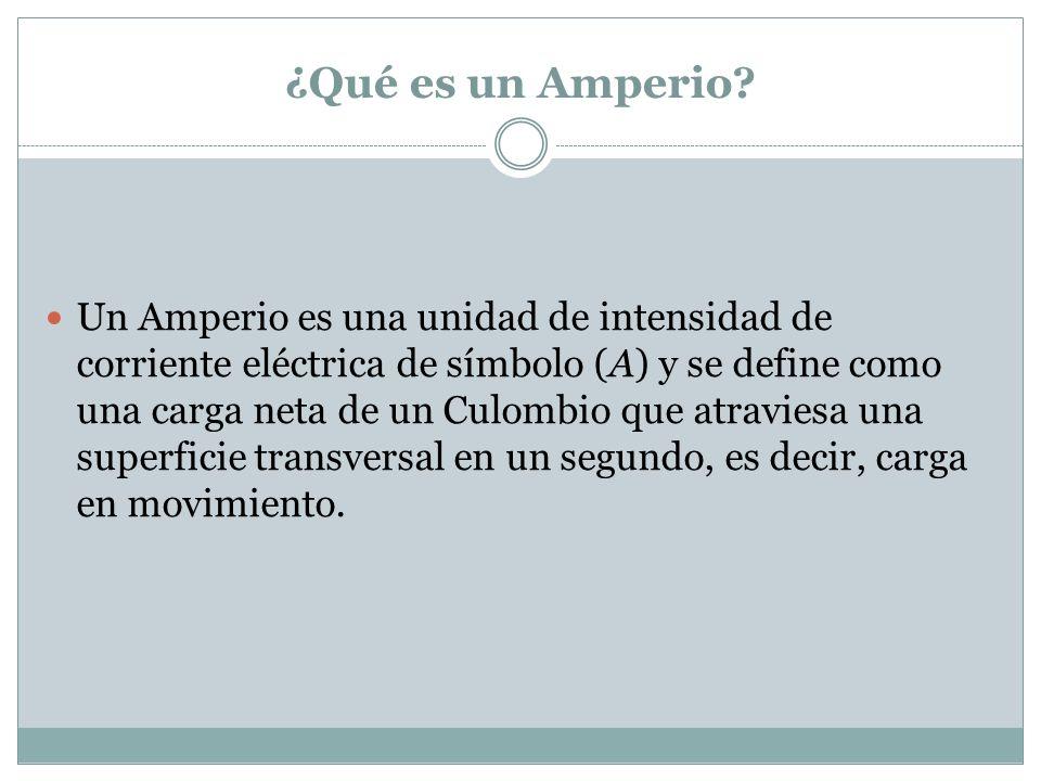 ¿Cuántos electrones necesita tener un Amperio.
