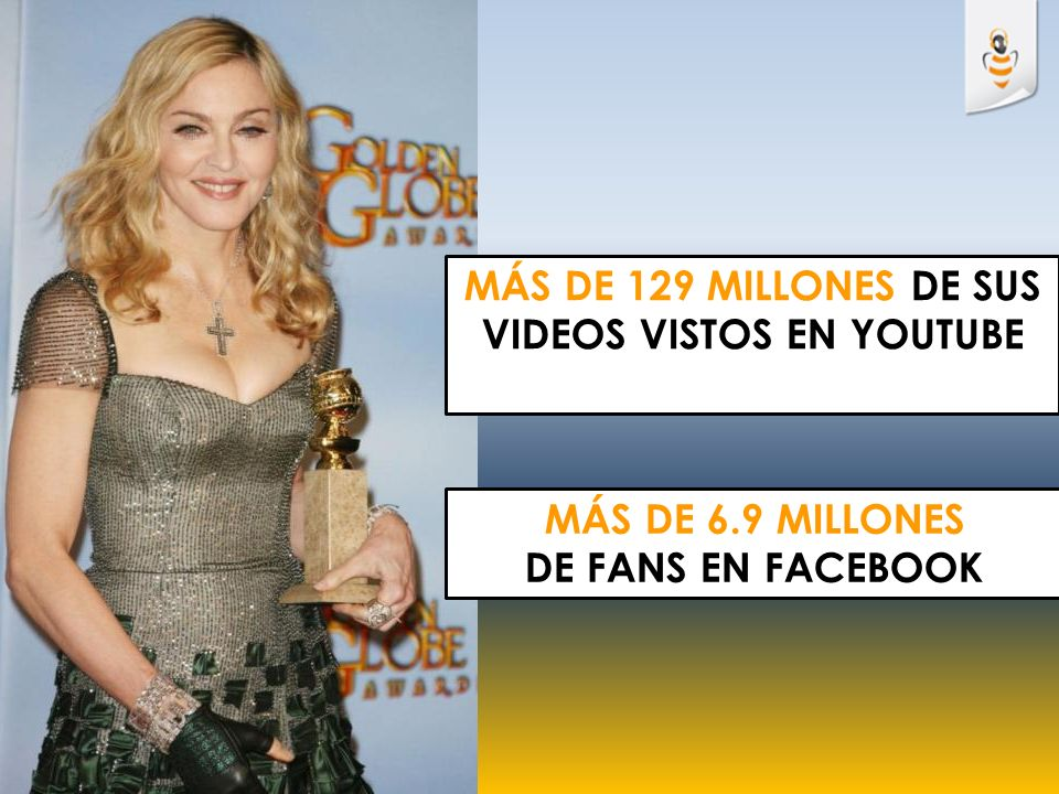 MÁS DE 129 MILLONES DE SUS VIDEOS VISTOS EN YOUTUBE MÁS DE 6.9 MILLONES DE FANS EN FACEBOOK