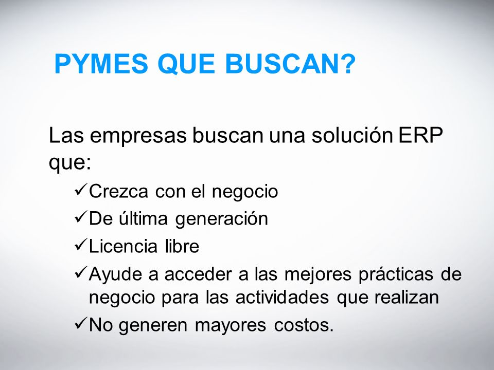 PYMES QUE BUSCAN.
