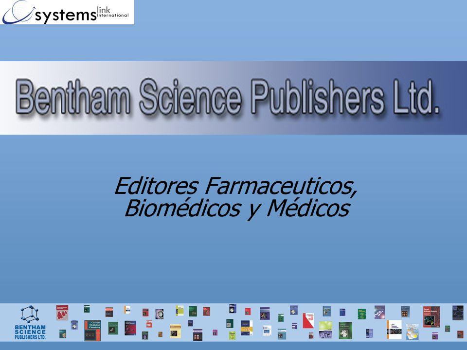 Puntos para remarcar: La Colección Médica (The Medical Collection) comprende 20 títulos especialmente para la profesión médica.