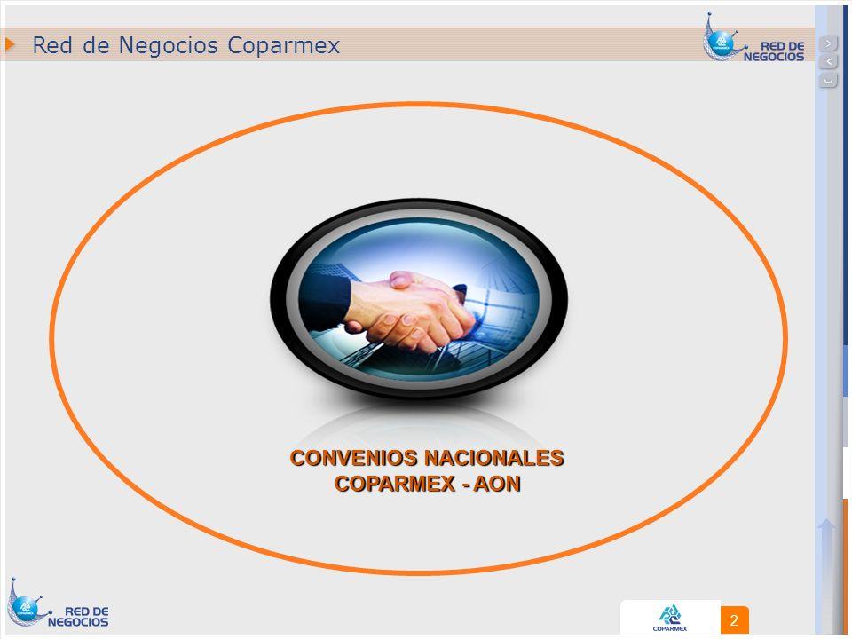 13 Convenio COPARMEX - AON Operación del Convenio Cotizar