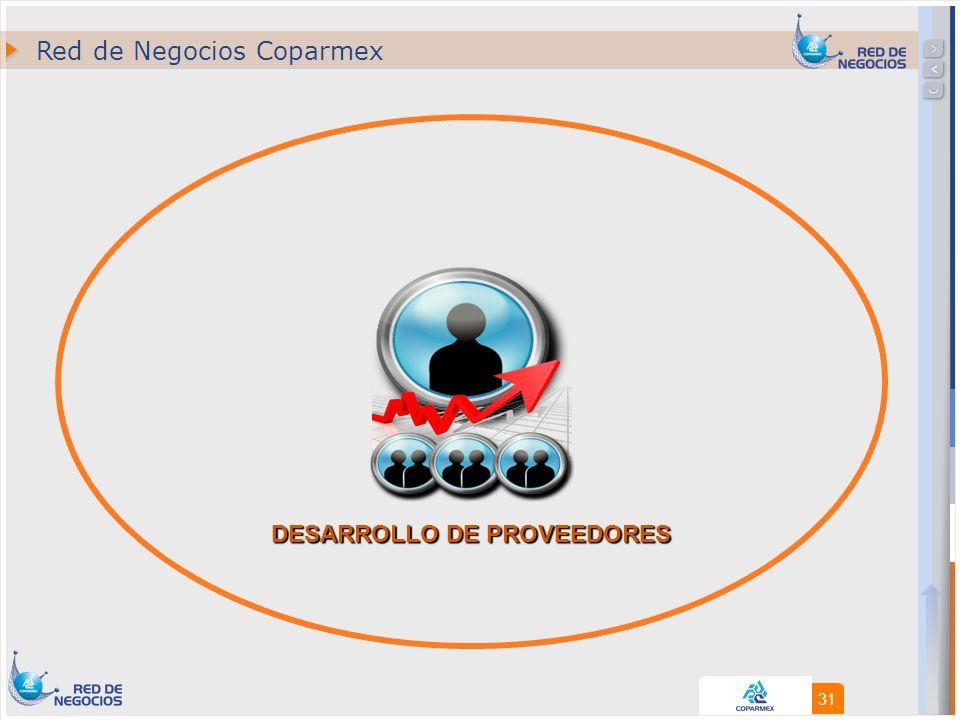 31 DESARROLLO DE PROVEEDORES Red de Negocios Coparmex