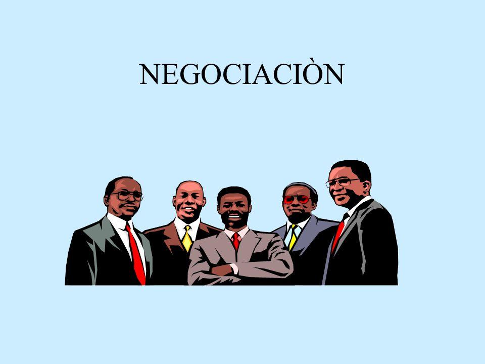 Repaso Distintas alternativasDescripción Paso 3º: Inicio del proceso de Negociación Para iniciar el proceso sur- girán temas específicos a tra- tar.
