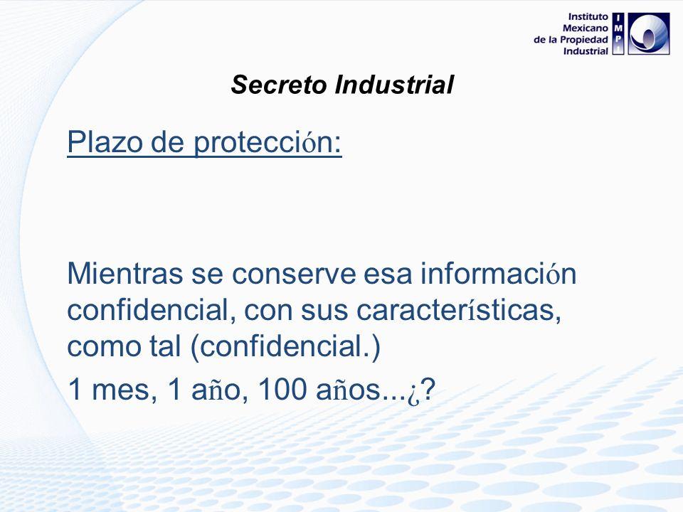 ...En cada entrega de informaci ó n... Debe se se ñ alarse que es informaci ó n confidencial ( secreto industrial ) y Que se de por enterado de que se