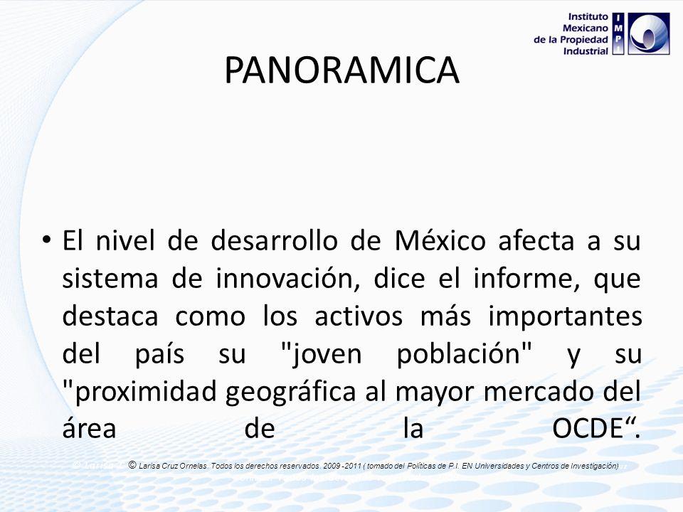 PANORAMICA Actualmente, la inversión que México dedica a Investigación y Desarrollo (I+D) es de 0.5 por ciento del Producto Interior Bruto (PIB), uno