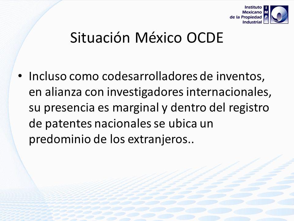 Situación México… OCED Según el reporte 2009,