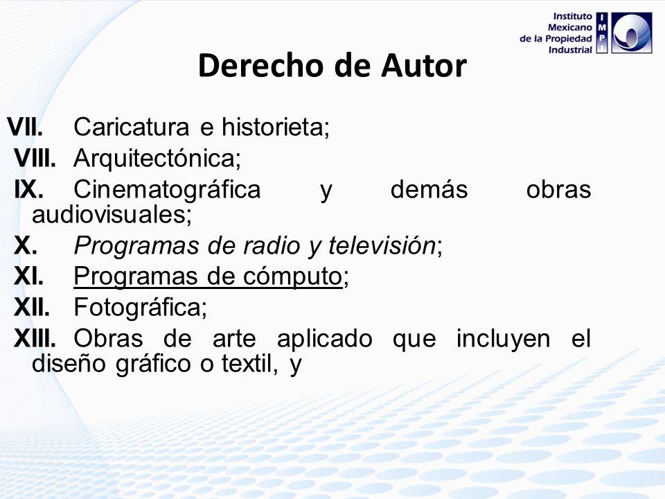 Derecho de Autor Los derechos de autor que se reconocen en nuestra legislación respecto de las obras de las siguientes ramas: I.Literaria; II.Musical,