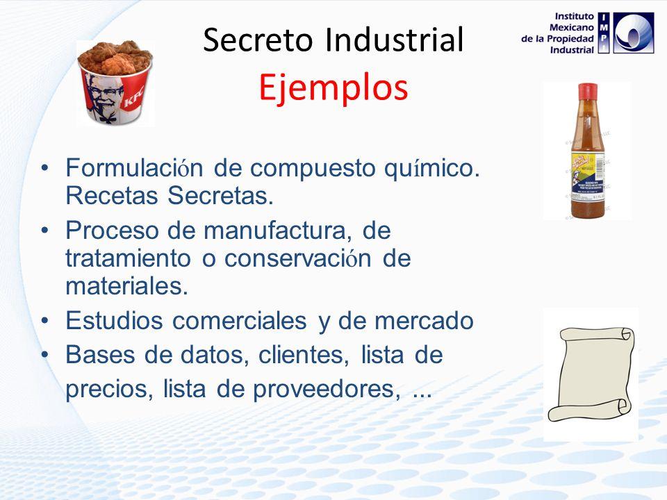 - INVENCIONES… Secretos Industriales