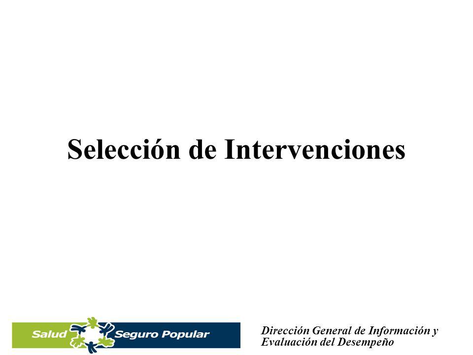 Dirección General de Información y Evaluación del Desempeño Resultados