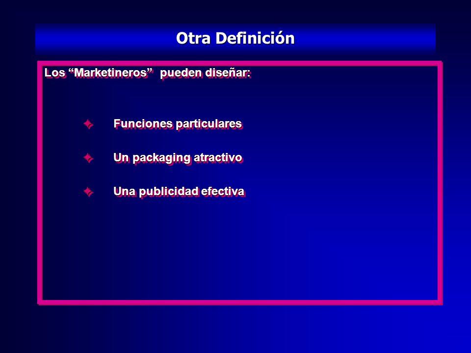 Los Marketineros tienen qué: Identificar y anticiparse a las necesidades de los consumidores Desarrollar un producto qué satisfaga mejor qué los cualq