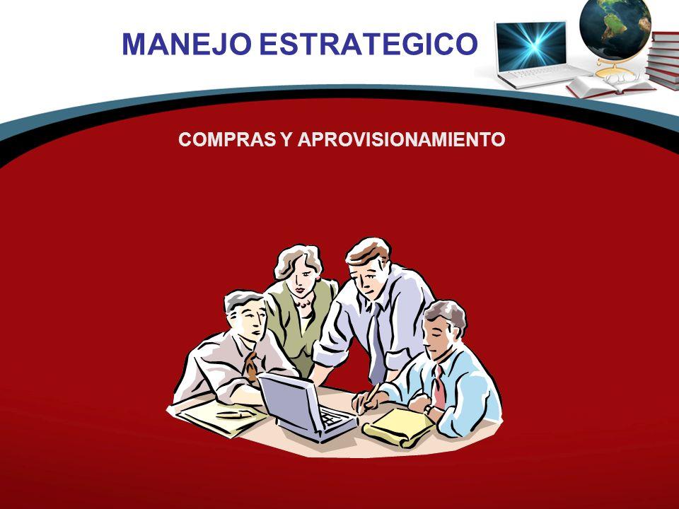MANEJO ESTRATEGICO COMPRAS Y APROVISIONAMIENTO