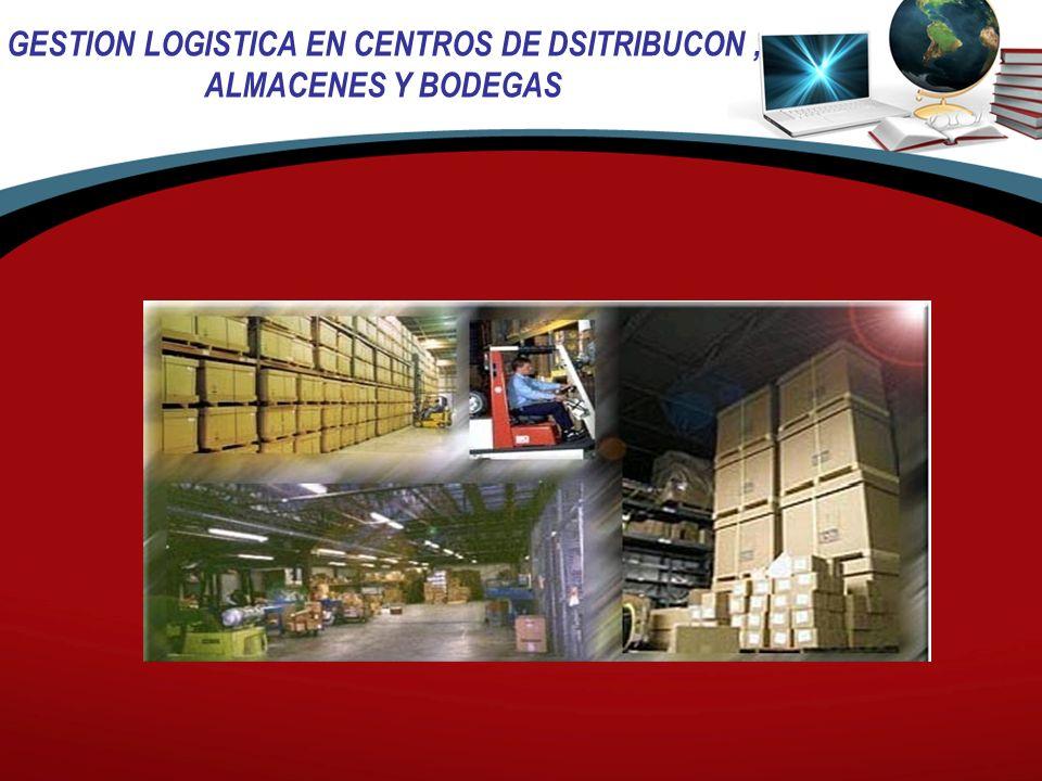 GESTION LOGISTICA EN CENTROS DE DSITRIBUCON, ALMACENES Y BODEGAS