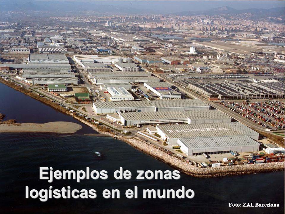 Ejemplos de zonas logísticas en el mundo Foto: ZAL Barcelona
