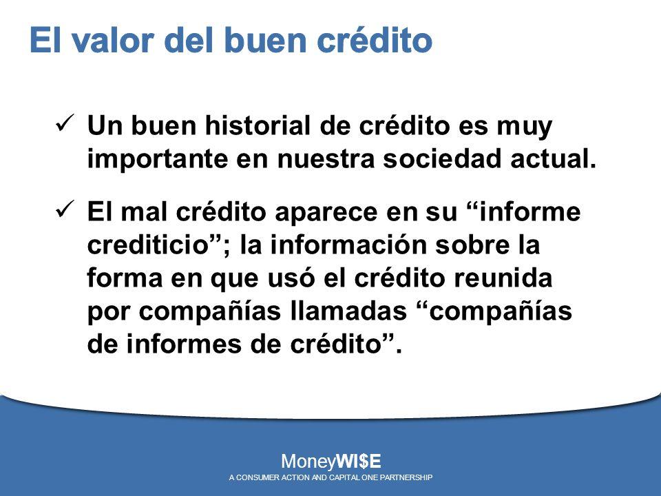 Un buen historial de crédito es muy importante en nuestra sociedad actual. El mal crédito aparece en su informe crediticio; la información sobre la fo