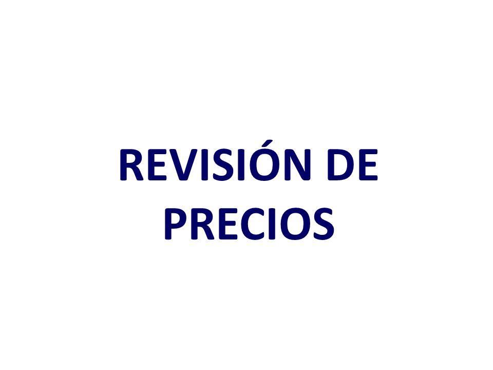 FASES DE FIJACIÓN DE PRECIOS