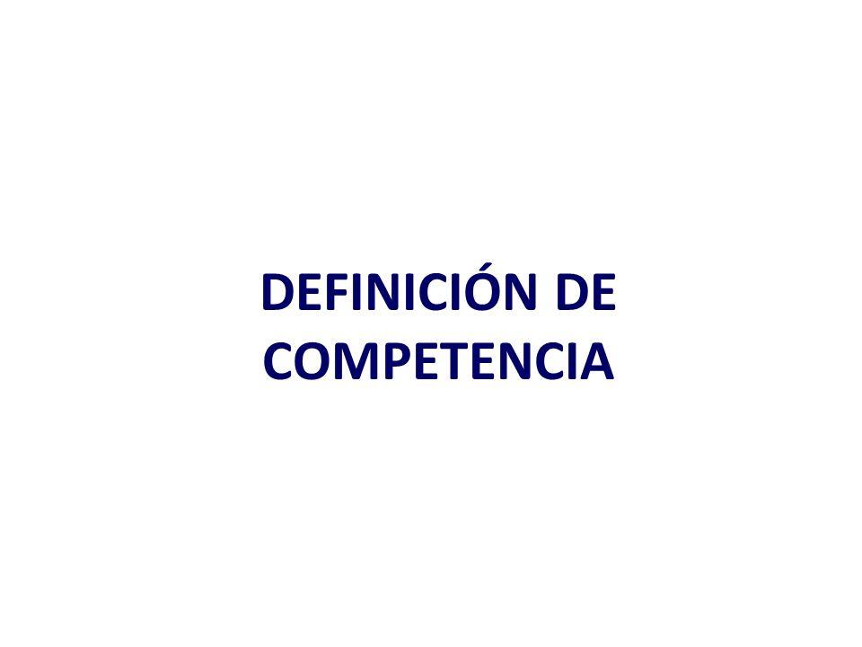 La estructura competitiva Condiciones competitivas.
