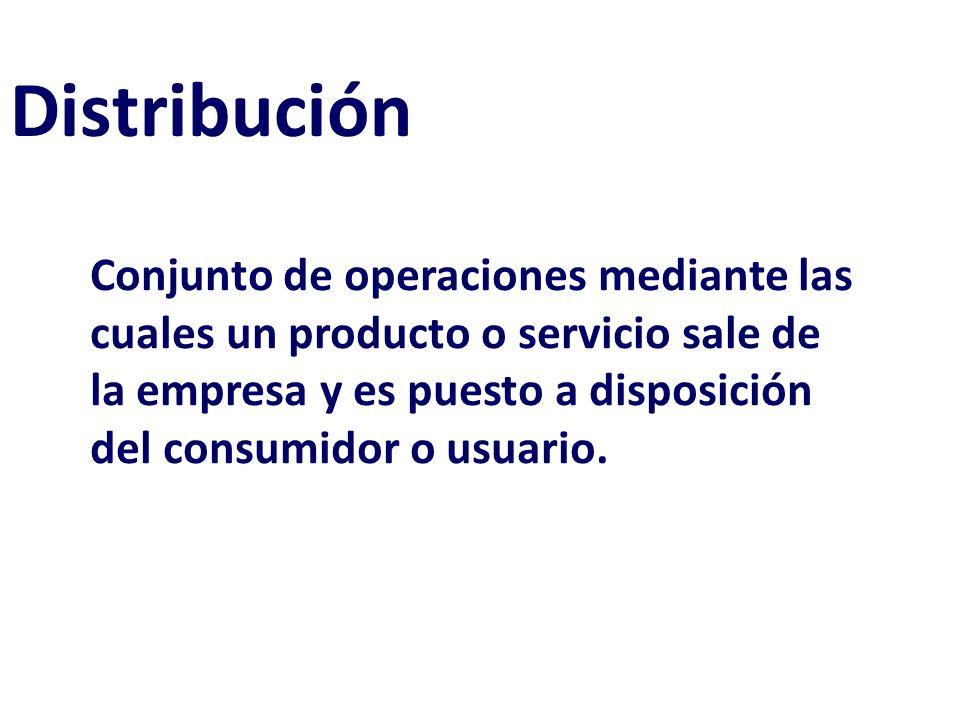 Distribución(plaza)