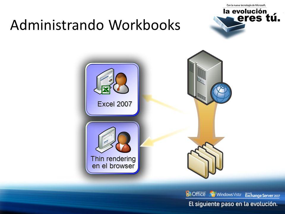 Thin rendering en el browser Excel 2007