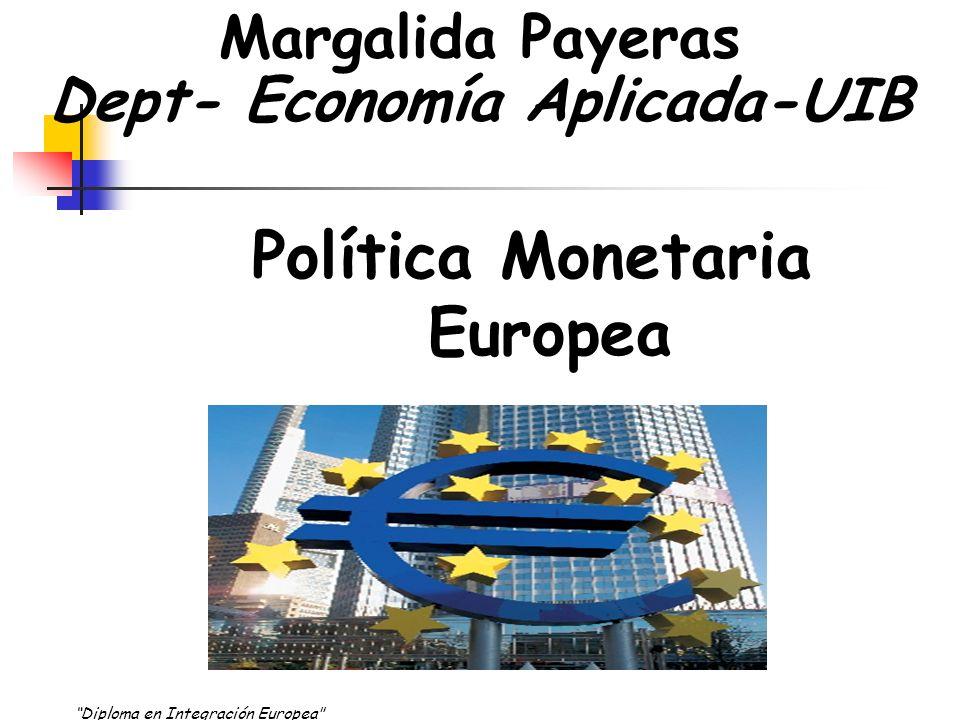 Agregados Monetarios como definiciones de dinero en el área Euro. INFORMACIÓN ADICIONAL….