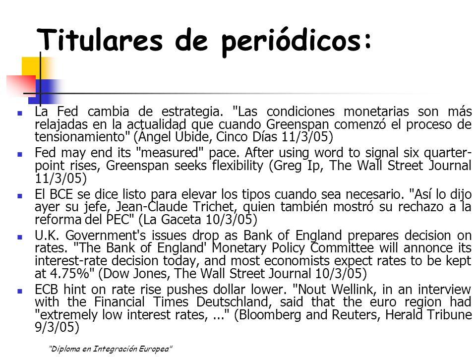 OBJETIVO de Política ¿Qué puede y que no puede hacer la política monetaria.