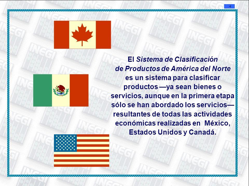 El Sistema de Clasificación de Productos de América del Norte es un sistema para clasificar productos ya sean bienes o servicios, aunque en la primera