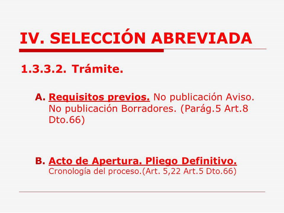 IV.SELECCIÓN ABREVIADA E. Inscripción Comisionistas en SICE y registro de precios en el RUPR.