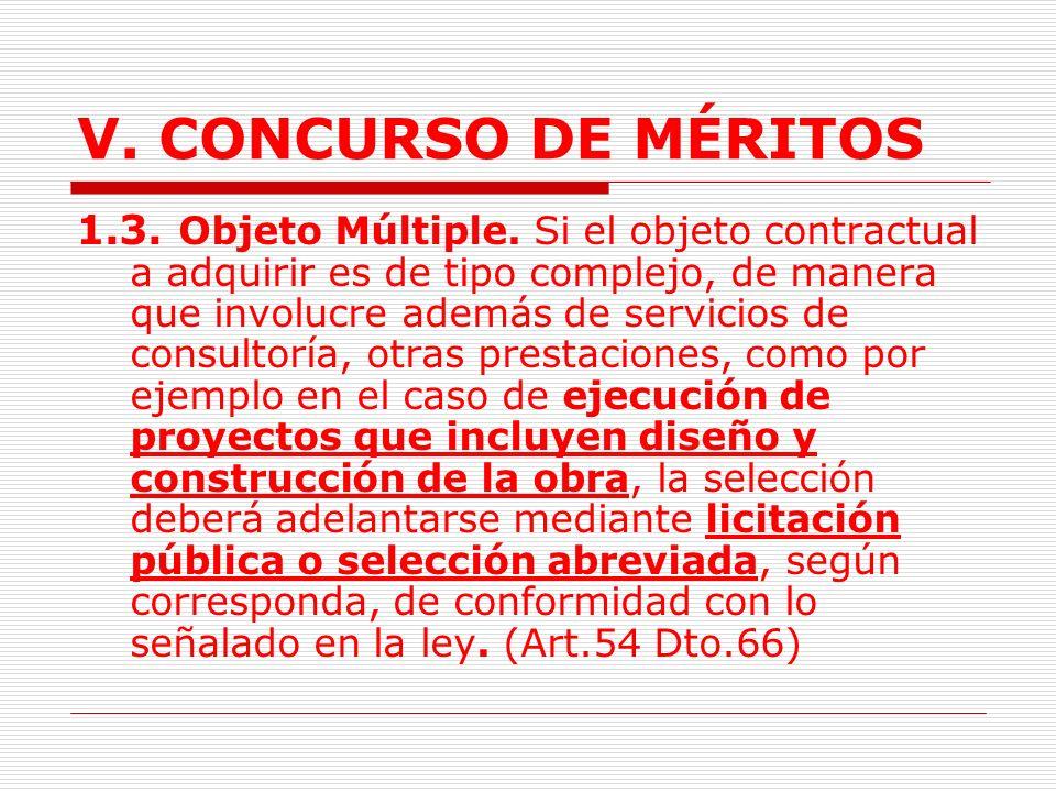 V.CONCURSO DE MÉRITOS 1.2. Ofertas.