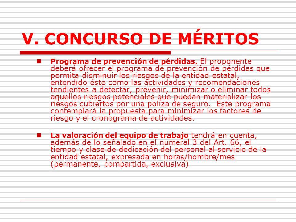 V.CONCURSO DE MÉRITOS 2.4.3.2.