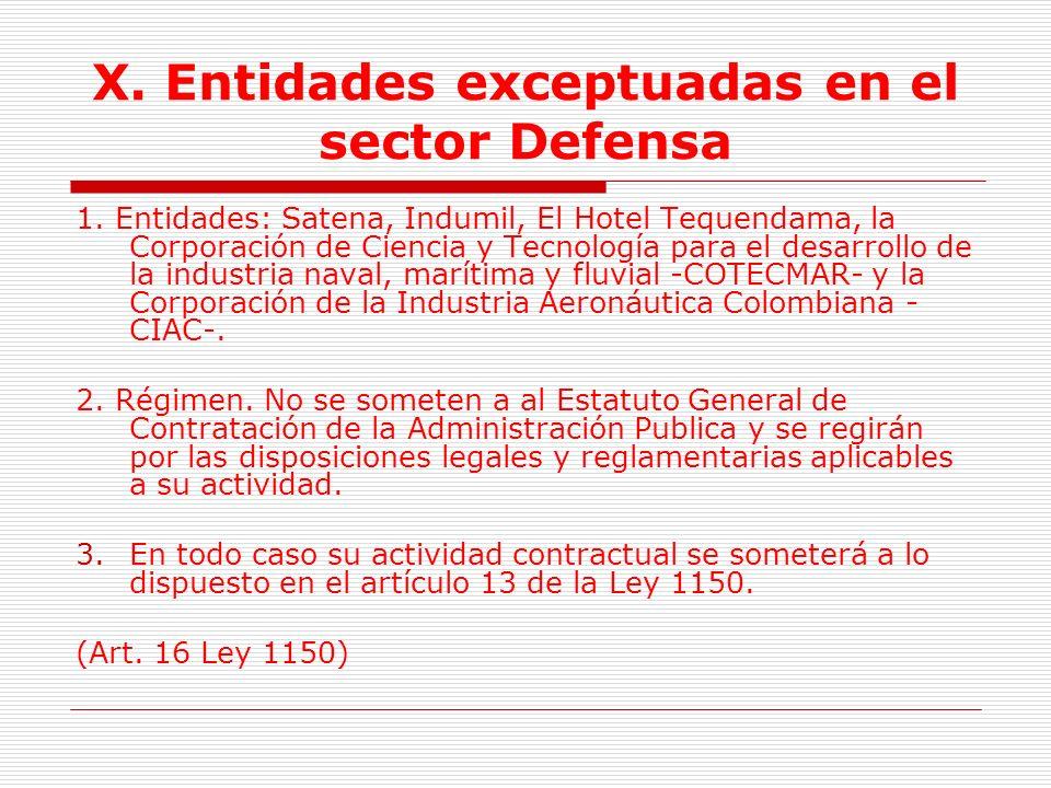 IX.Entidades financieras 2. Régimen de FONADE.