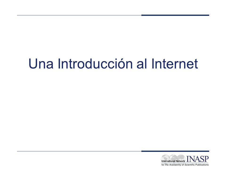 Una Introducción al Internet