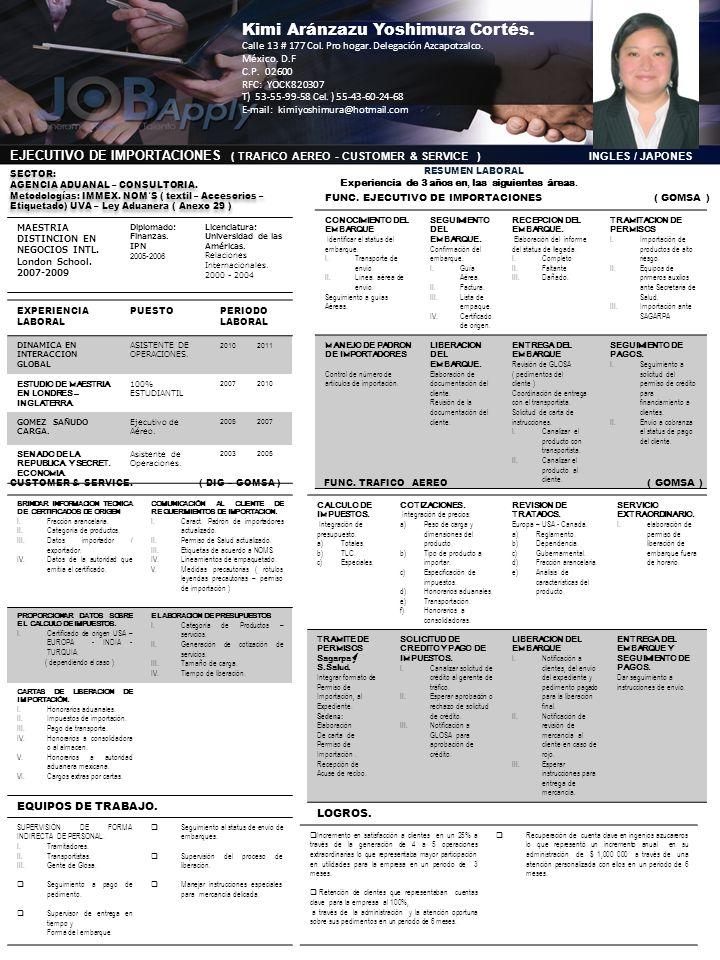 EXPERIENCIA LABORAL PUESTOPERIODO LABORAL DINAMICA EN INTERACCION GLOBAL ASISTENTE DE OPERACIONES. 20102011 ESTUDIO DE MAESTRIA EN LONDRES – INGLATERR