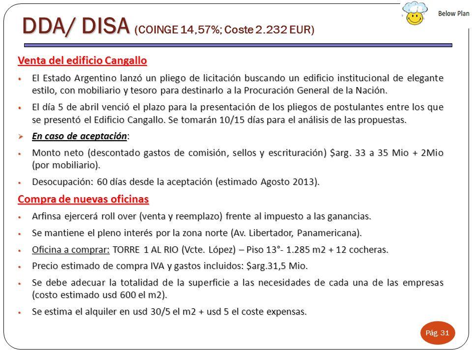 Pág. 31 Venta del edificio Cangallo El Estado Argentino lanzó un pliego de licitación buscando un edificio institucional de elegante estilo, con mobil