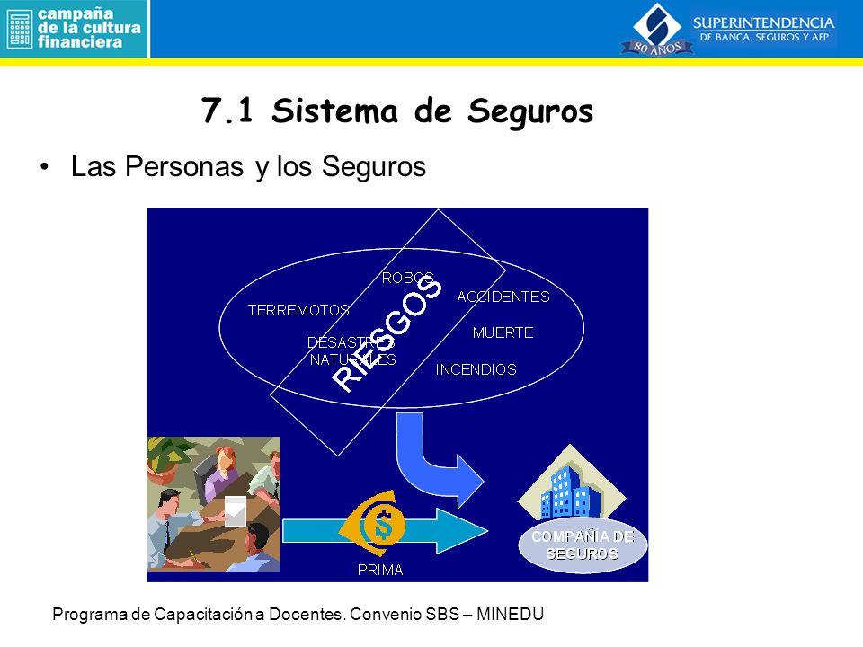 7.Sistema de Seguros y Sistema Privado de Pensiones 7.
