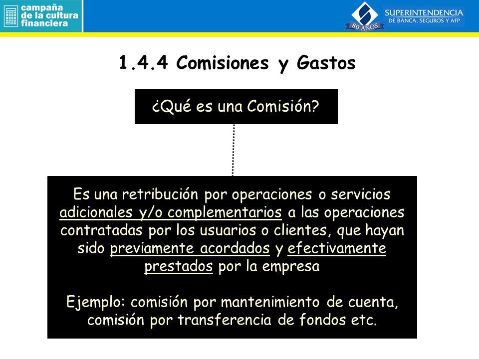 ENTIDADES FINANCIERAS DEPÓSITO Individuos / Empresas Excedentarios Individuos / Empresas Deficitarios COLOCACIONES ACTIVO PASIVO COLOCACION + INTERÉS PLAZO DETERMINADO PLAZO DETERMINADO DEPÓSITO + INTERÉS PLAZO DETERMINADO 1.4.3 Margen de Ganancia: spread (+) Intereses cobrados (-) Intereses pagados RESULTADO FINANCIERO BRUTO (-) Provisiones por incobrables RESULTADO FINANCIERO NETO (+) 200 (-) 40 160 (-) 50 110 (+) 200 (-) 40 160 (-) 95 65 (+) 200 (-) 40 160 (-) 200 (-) 40