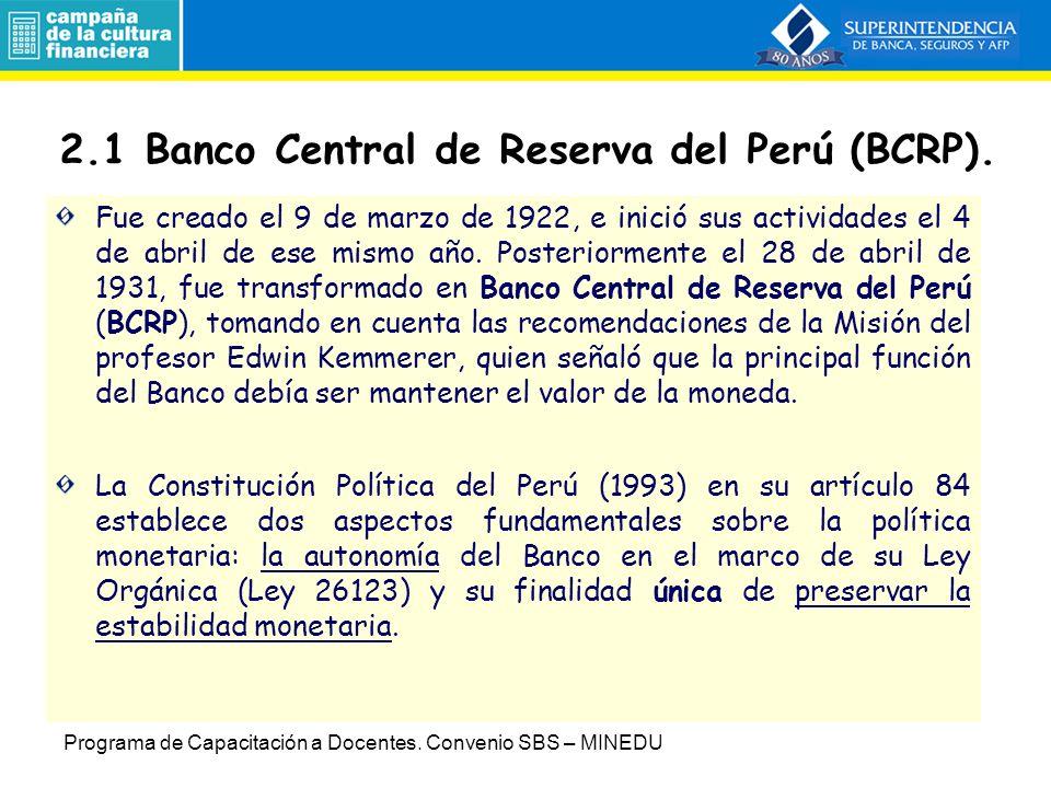 2.Entidades de Regulación y Supervisión 2.