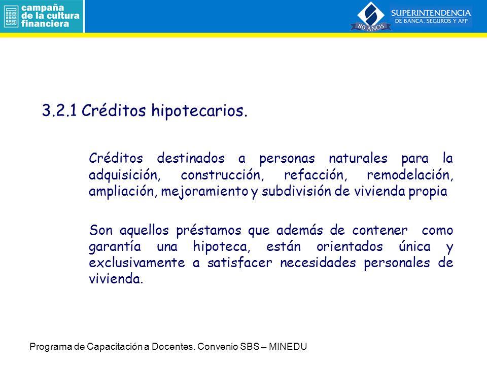 Por tipo de producto (ejemplos) Hipotecario Préstamos Tarjeta de Crédito Descuentos Leasing Factoring Programa de Capacitación a Docentes.