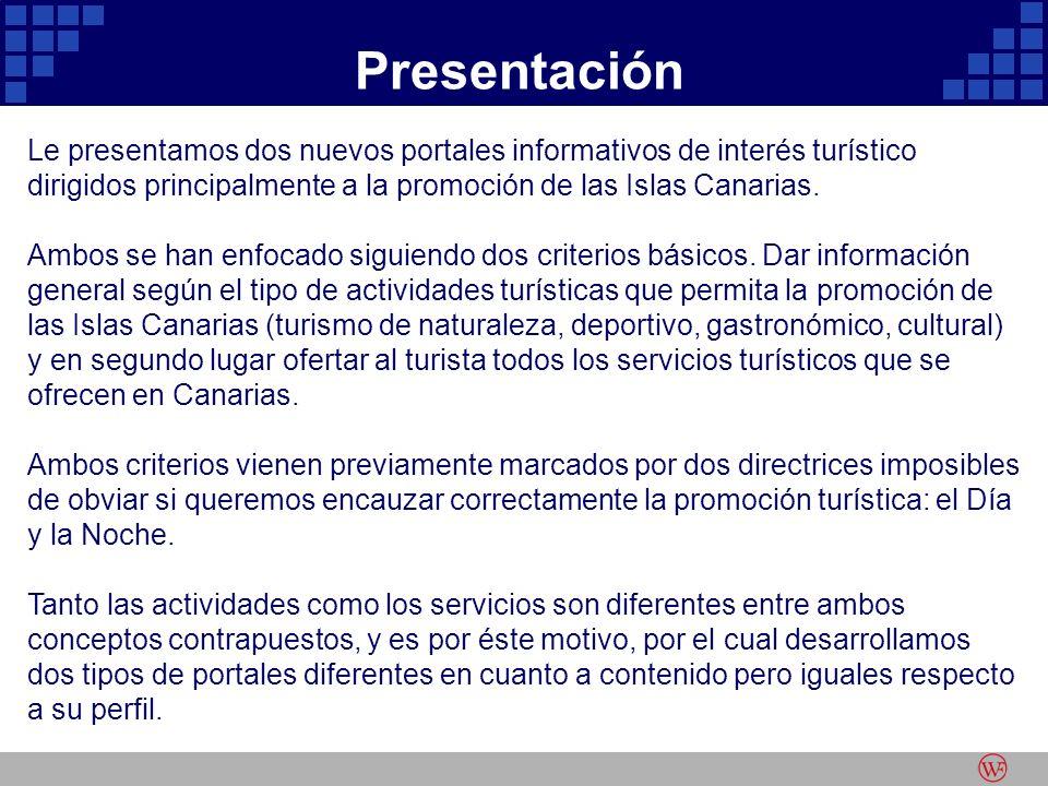 Le presentamos dos nuevos portales informativos de interés turístico dirigidos principalmente a la promoción de las Islas Canarias.