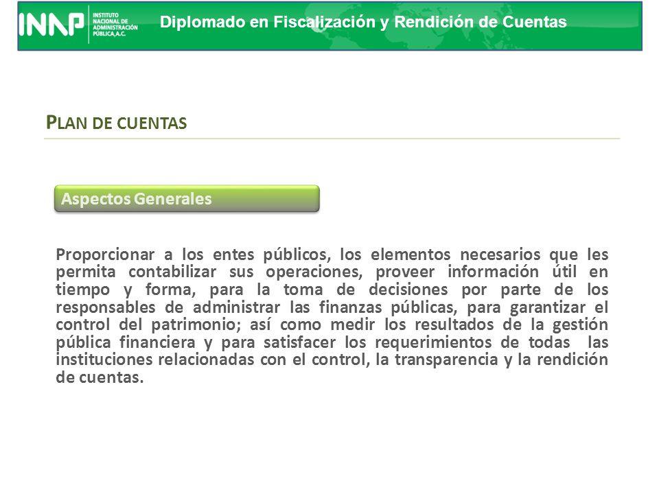 Diplomado en Fiscalización y Rendición de Cuentas A través de éste se integrarán de forma automática las cuentas presupuestarias con las cuentas conta