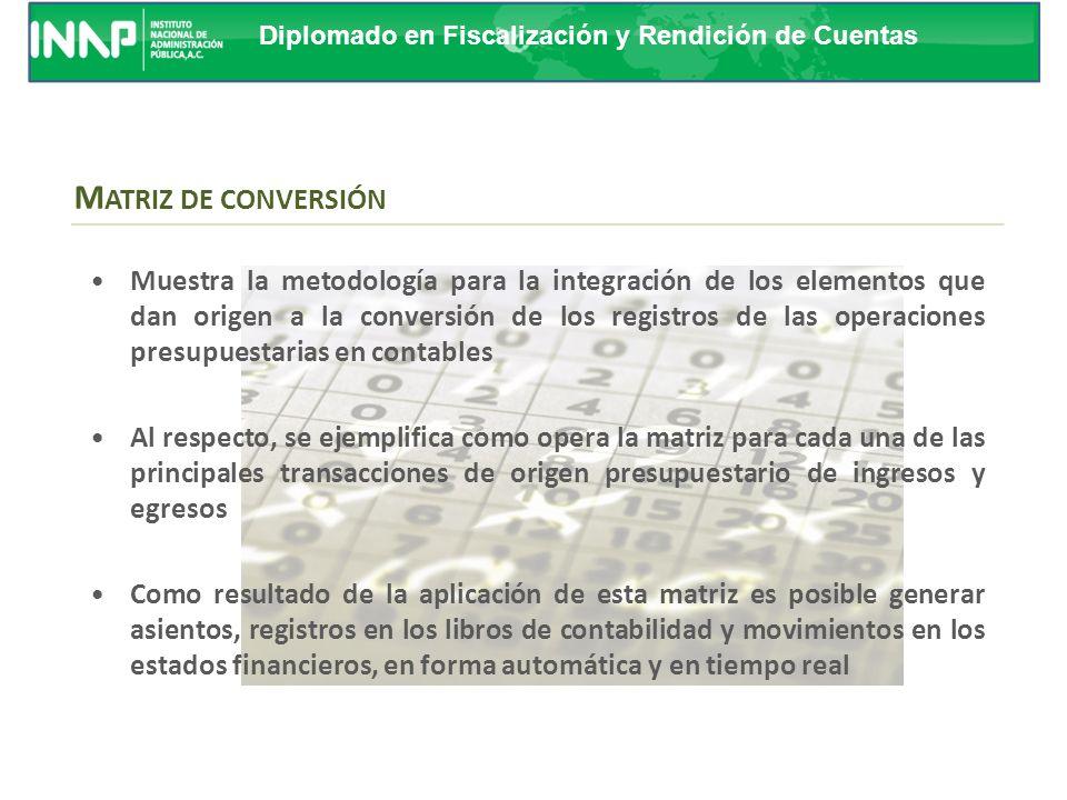 Diplomado en Fiscalización y Rendición de Cuentas G UÍA CONTABILIZADORA