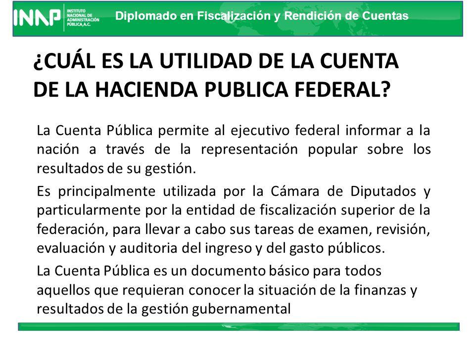 Diplomado en Fiscalización y Rendición de Cuentas 6. Cuentas de las Haciendas Públicas Estatal y Municipal