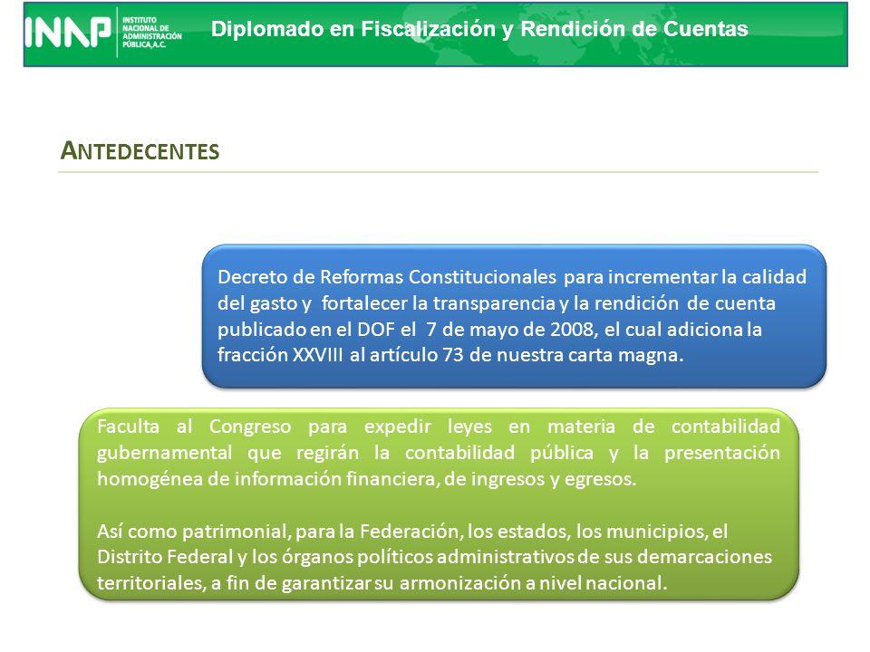 Diplomado en Fiscalización y Rendición de Cuentas ¿CUÁL ES LA UTILIDAD DE LA CUENTA DE LA HACIENDA PUBLICA FEDERAL.