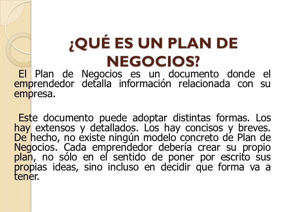 PLAN DE NEGOCIOS fin EL QUE TIRA EL ANZUELO Y ESPERA, PESCA.