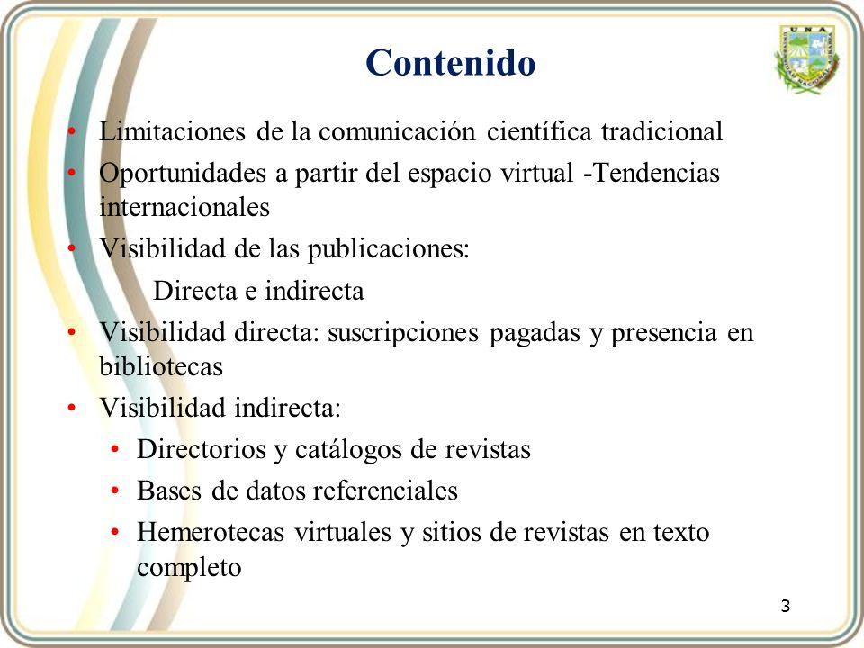 34 El Boletín LAMJOL, Latin America Journals Online No.