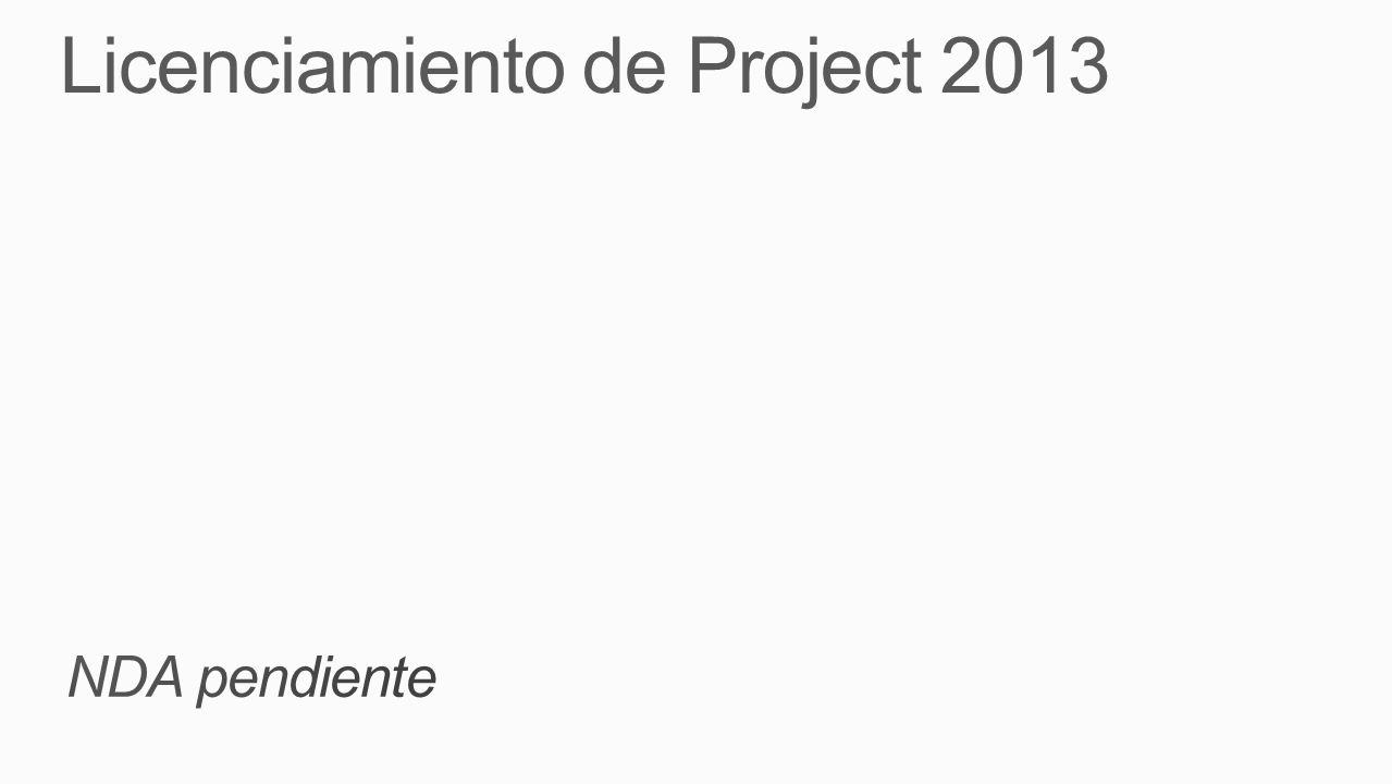 Resumen de SKUs de Project 2013 Plan.
