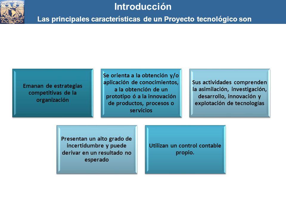 Emanan de estrategias competitivas de la organización Se orienta a la obtención y/o aplicación de conocimientos, a la obtención de un prototipo ó a la