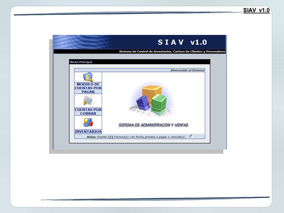 SIAV v1.0